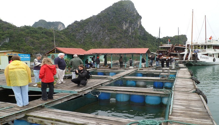 Visiting Pearl Farm Village with Alisa